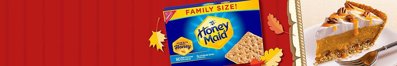 Honey Maid Grahams Turtle Pumpkin Pie