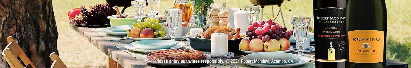 Please enjoy our wines responsibly. © 2021 Robert Mondavi, Acampo, CA
