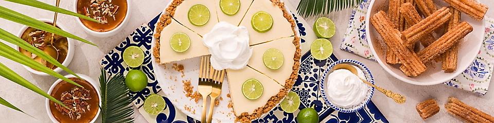 Celebrate with delicious desserts.