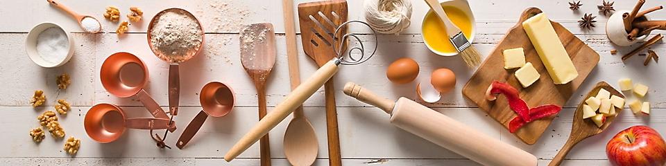 Fresh Baking Items & Utensils