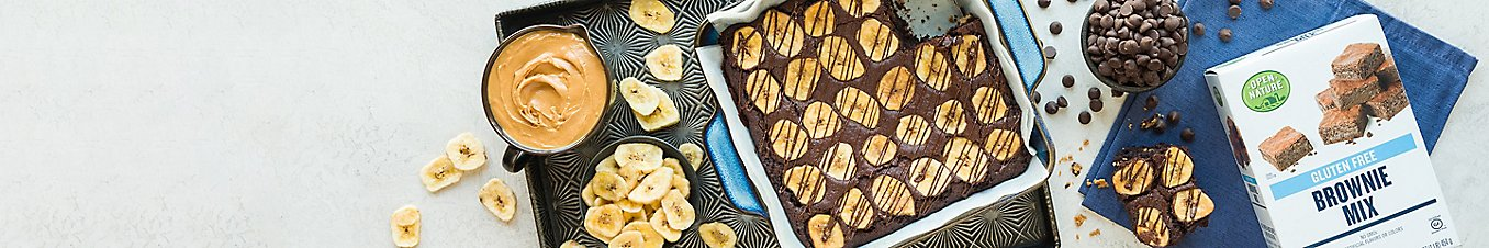 Gluten-Free Easy Chocolate Peanut Butter Brownies