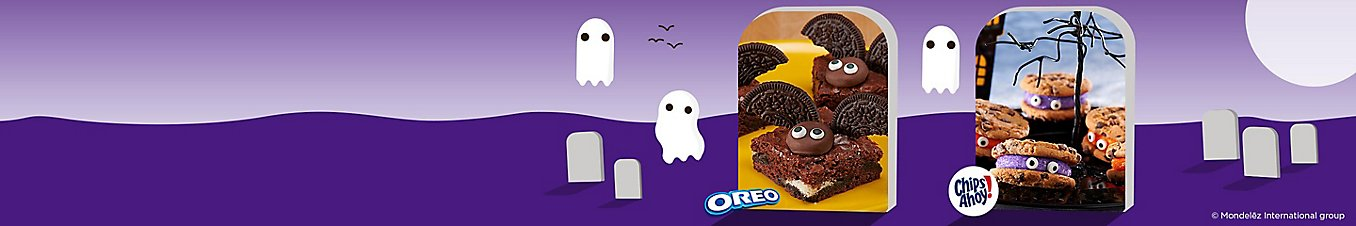 OREO Brownie Bats and CHIPS AHOY! Critters.