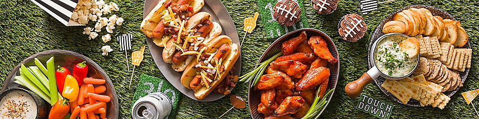 Enjoy fall football with party trays