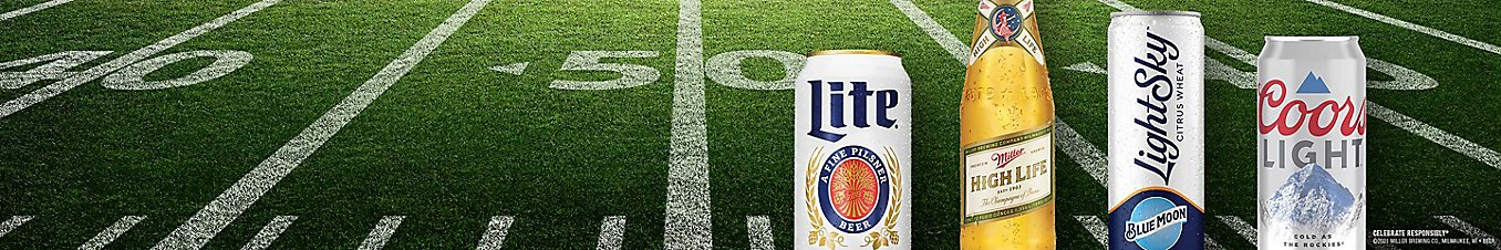 Celebrate Responsibly. ©2021 Miller Brewing Co., Milwaukee, WI • Beer