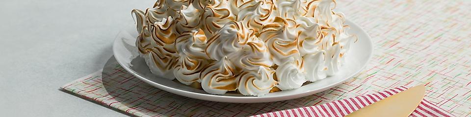 Pumpkin Pie Baked Alaska