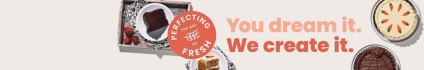 Perfecting the art of fresh. You dream it. We create it.