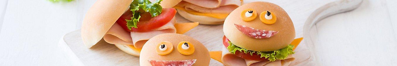 Back to school sandwich sliders