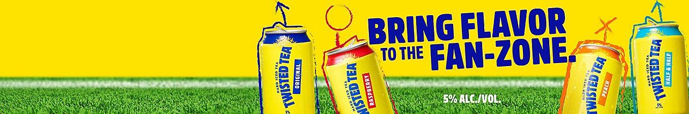 Original Twisted Tea and Half & Half Twisted Tea